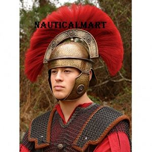 Tissu non-tissé Armour casque romain Centurio avec Crest par Nauticalmart