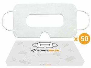 Masque de Protection jetable Universel pour Casque VR Blanc – Govark (Lot de 50)