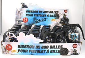 salve 10 Grenades de 400 Billes Noires et Blanches