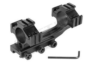 SUTTER® Rails de Montage courbé Solide 19-22mm – avec Rails de 21mm – Montage pour Lunettes de visée
