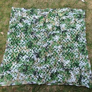 GRW-Bâche Shading Net Sunshading Shade Sunscreen Greening Camouflage Net Camping Respirant Jungle Anti-UV Facile à Replier Taille Peut être Personnalisé, 2 Styles (couleur: Camouflage du désert, Taill