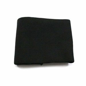 Furphy Knit Polyester Firearm Gun Sock Silicone Treated Gun Protector Cover Bag Moistureproof Storage Sleeve Case – Black