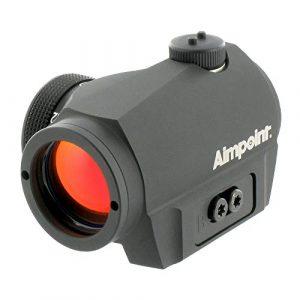 Aimpoint VISEUR Fusil Micro S1 6 MOA tir-Point Rouge Mixte Adulte, Noir