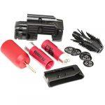 Airsoft APS Smart Shot Mini Launcher with Cartridge Shell avec Cartouche Coquille, Paintball Cylinder Adaptor Adaptateur Cylindre Paintball, Belt Loop Papier d'étanchéité et Boucle de Ceinture