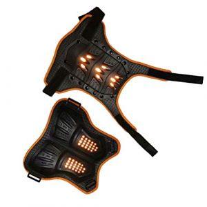 BESPORTBLE Enfants Poitrine Protecteur Gilet Pare-Balles Équipement de Protection pour Faire du Vélo Motocross Snowboard Ski (Taille L)