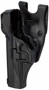 BlackhawkHolster de Fonction SERPA Niveau 3 – Verrouillage Automatique – Finition Mate, Mixte, 44H108BK-L, Noir, Size 08 – Sig Pro 2022 (Most)