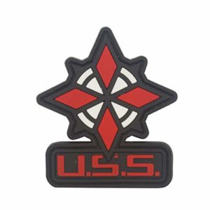 Cobra Tactical Solutions Umbrella Security Service USS Resident Evil Ecusson PVC Patch Tactique Moral Militaire Applique Emblème Insignes Fastener à Crochet et Boucle Airsoft Paintball Cosplay