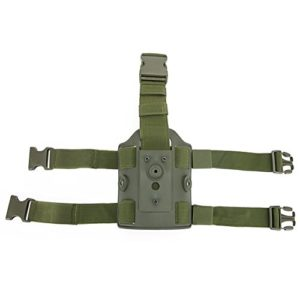 DECHO-C Tactique Chasse Cuisse Goutte Jambe Plate-Forme Holster Double Sangle Jambe Cuisse Holster Sac Poche Tactique Leggings Dispositif