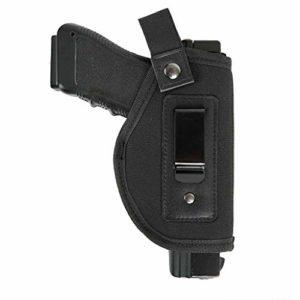 DecoDeco Holster à l'intérieur de la ceinture s'adapte à l'écran M & P 9mm, .40, .45 Auto / GLOCK 17 19 26 27 29 30 33 42 43 / Ruger LC9, LC380 Housse dissimulée à l'intérieur du pistolet IWB