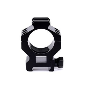 Dophee Support de Fusil Tactical 30mm 3 Slot Torch Rifle Scope Mount Ring pour 20mm Weaver Picatinny Rail