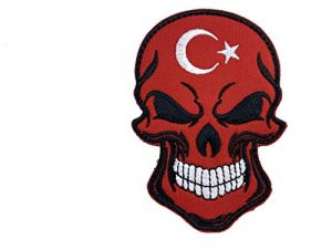 Écusson brodé Airsoft Paintball Turquie Patch