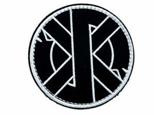 Écusson brodé de Norse Rune Aegishjalmr Airsoft Paintball Cosplay Patch