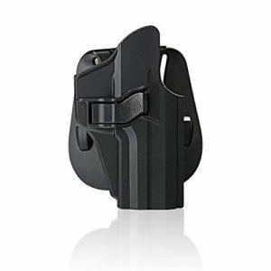 efluky Holster à palette avec déclencheur ajustable Cant, Holster Polymer Holster pour H & K USP Holster pistolet H&K VP9/VP9SK/VP40, RH