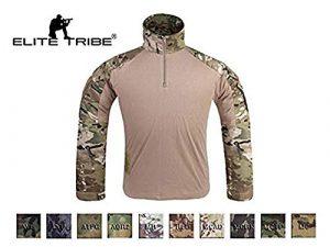Emersongear G3 Combat Shirt Tactique Militaire BDU Airsoft Shirt, Multicam, XXL