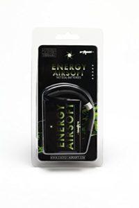 ENERGY AIRSOFT Solo 4 Batterie Airsoft Mixte Adulte, Noir/Vert
