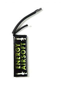 ENERGY AIRSOFT Solo 5 Batterie Mixte Adulte, Noir/Vert