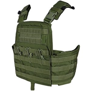 Flyye Champ Compact Support de Plaque Olive Drab taille M