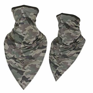 *F*S*O* Cache-Masque de Paintball Motif Camouflage Vert