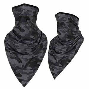*F*S*O* Housse de Protection pour Masque de Paintball Motif Camouflage Noir