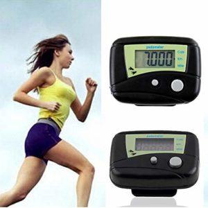 HATCHMATIC LCD numérique Multifonctions Haute qualité Run Run Step Podomètre Walking Distance Compteur de Calories Clipser # 1128