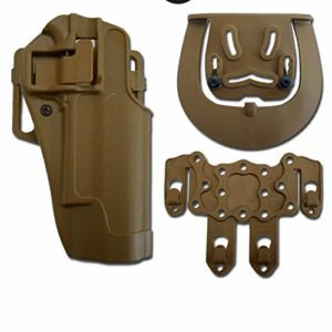 Holster Softair Rigide SERPA CQC Molle Plus 1911 H19-T Dark Earth H19-T