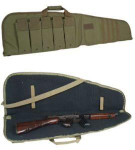 Housse de fusil avec poches MILTEC 140 cm pour fusil type snipe