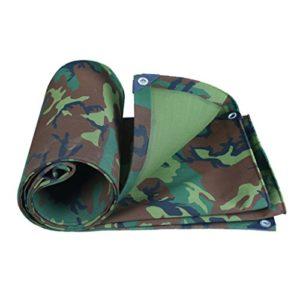 HTZ Toile De Camouflage Militaire Épais Tissu Imperméable Imperméable Protection Solaire Bâche Canopée Huile Canopée Tente Tissu De Pluie Tente 100% Protection UV Et Imperméable À L'eau A+