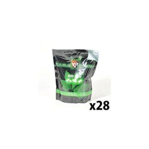 King Arms – bille BIO Dégradable 0.20g blanche 1kgr (5000 bbs) x28