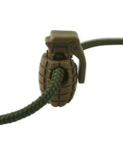 Kombat tactique Tan Grenade Cord Bouchons 8 par lot