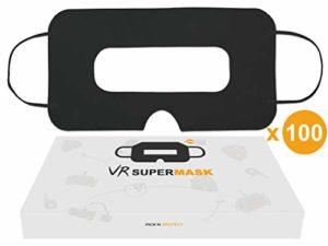 Masque VR Jetable Noir Universel pour Casque de Réalité Virtuelle – Govark (Lot de 100)