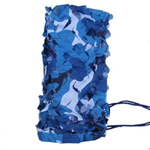 Mitefu Filet de Camouflage Heavy-Duty d'Océan Couverture pour Camping Chasse Tir Parasol, 1x2m 1.5x4m 2x3m 3x3m 3x4m 4x5m 5x6m 6x6m etc, lot DE 1