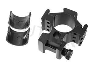 Montage d=30mm Forte * Pour 19-21mm rails – Montage pour lunettes de visée