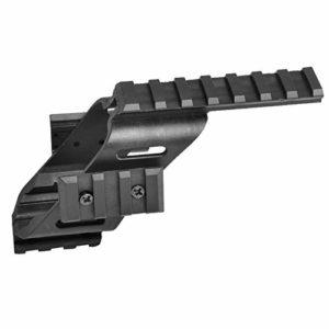 Monture Universelle de lumière Laser Pight Scope Sight avec Quad 7/8″Rail Weaver et Picatinny pour Jeux G17 CS
