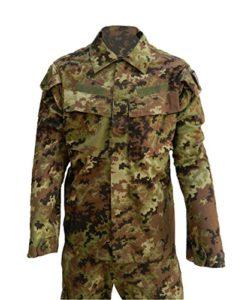 OUTLET MILITARY Tenue Militaire de Combat Ripstop Camouflage VEGETATO Mimetico 52