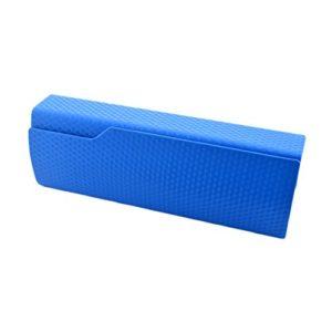 Parfait Lunettes de soleil / Lunettes Hard Case Clamshell Case Bleu