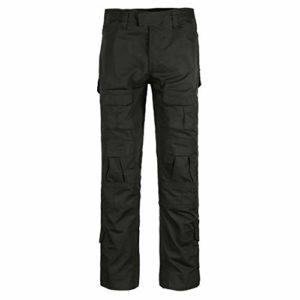 QMFIVE Pantalon de l'Armée, Hommes Camo Combat Combat BDU Pantalon de Combat Pantalon pour Armée Militaire Tactique Airsoft Paintball