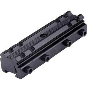 Queue d'aronde 11 à 20 mm Weaver Picatinny Rail Base Scope Mount Converter for Hunting