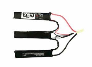 RACCOON Batterie LIPO 11.1V 1100MAH-25C 3 Élément Batterie Airsoft UL CE Approbation