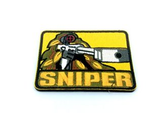 Sniper brodée Airsoft Paintball Patch