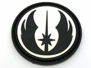 Star Wars Order of The Jedi Glow in The Dark PVC Airsoft Patch