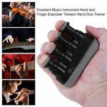 Swiftswan Excellent Portable Guitare Basse Piano Main Etc Instrument De Musique Doigt Exerciseur Tension Main Grip Trainer Aroma