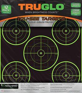 Truglo TG11A12 Cible 5 Bull 12X12 12PK