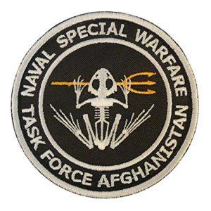 US Marine Navy Seals NSW Task Force Afghanistan DEVGRU Frog Embroidered Fastener Écusson Patch