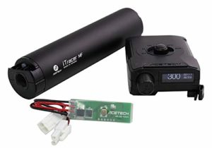 XCORTECH Airsoft X3300W Tracer Unit Torch BB'S Chronograph MOSFET All in 1 Black