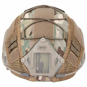 Fly YUTING Airsoft Military Tactical Helmet Case, CS Wargame Sport Helmet Hunting Helmet Helmet Case, for Fast MH/PJ Helmet (No Helmet),CP