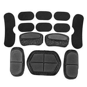 Fly YUTING Tactical Helmet Pads13pcs / Set, Helmet Foam Pad, Airsoft Paintball Fast Helmet DIY Protective Cushion EPP Sponge Pad Set, Motorcycle Helmet Replacement Accessories