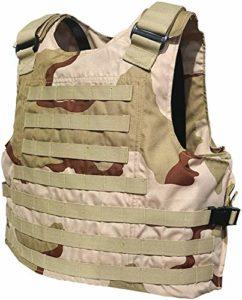 Gilet d'autoprotection Gilet de sécurité Molle réglable Niveau 2 Gilet de Protection Contre Le terrorisme Gilet Tactique (Gilet Tactique (A))