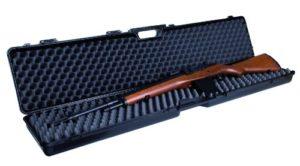 GSG Mallette à armes avec en mousse, Noir, Waffenkoffer für Gewehre, Noir, 122 x 25 x 10 cm