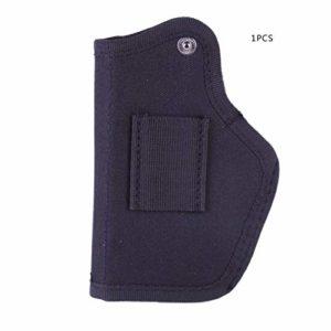 Jullyelegant Multifonctionnel extérieur Iwb Gauche et Droite Universel caché Tactique Holster Carry Bag pour Guns Bullets Equipment – Black
