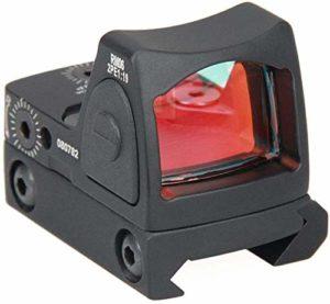 YAYY Tactique Red Dot Sight 3 25 MOA réglable Reflex Sight Pistolet Portée 20mm Mont Pistolet Pistolet Pistolet Shunt Red Dot(Upgrade)